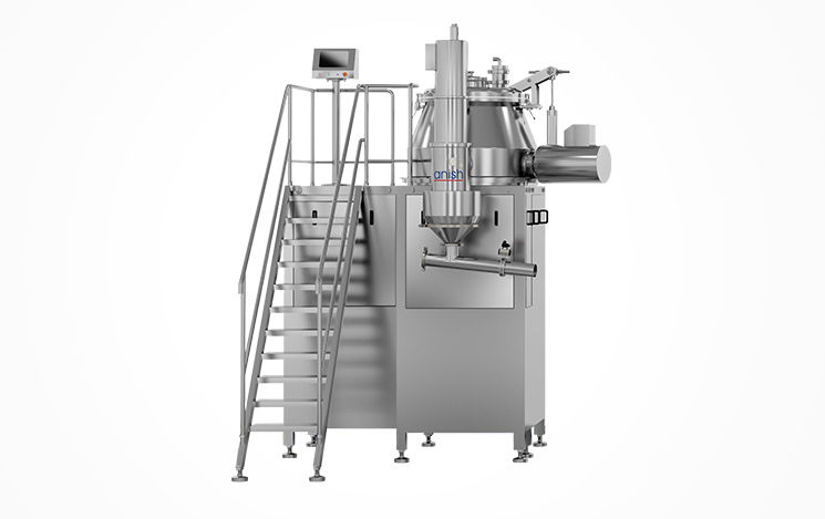Rapid Mixer Granulator Machine In Pharma